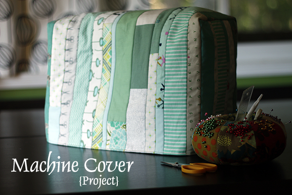 Machine Cover for Patchwork from Scrap  class