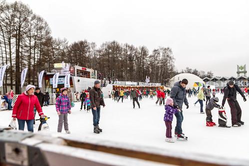 В Сокольниках открылась новая лыжня.