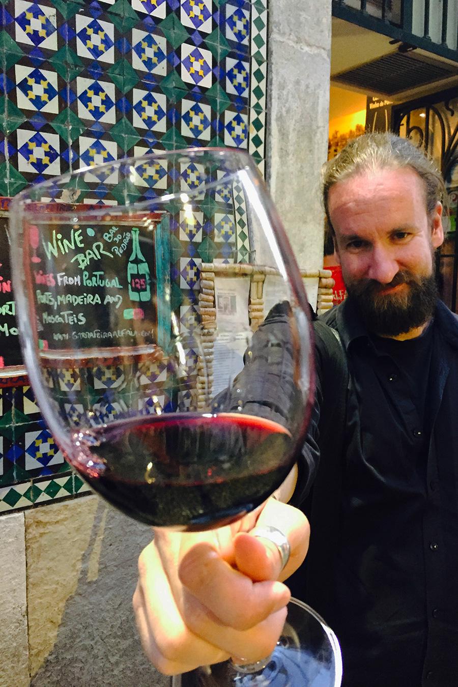 Lissabon viinibaari