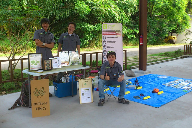 Outdoor Ethics with Better Trails at Pesta Ubin 2016