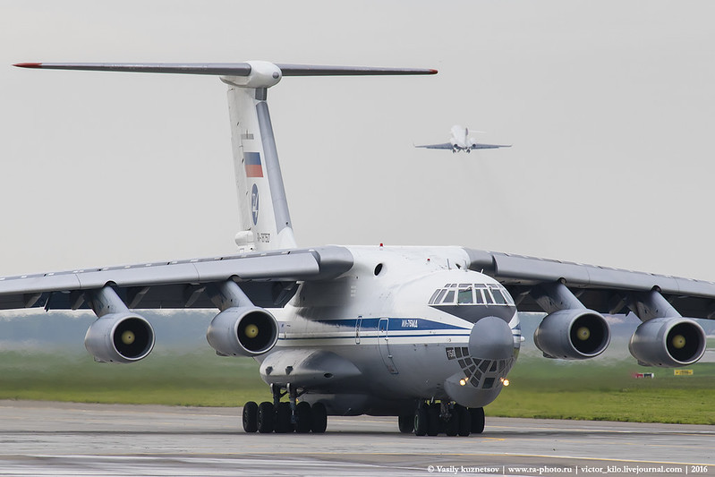 224th Flight Unit Ilyushin Il-76MD RA-78750