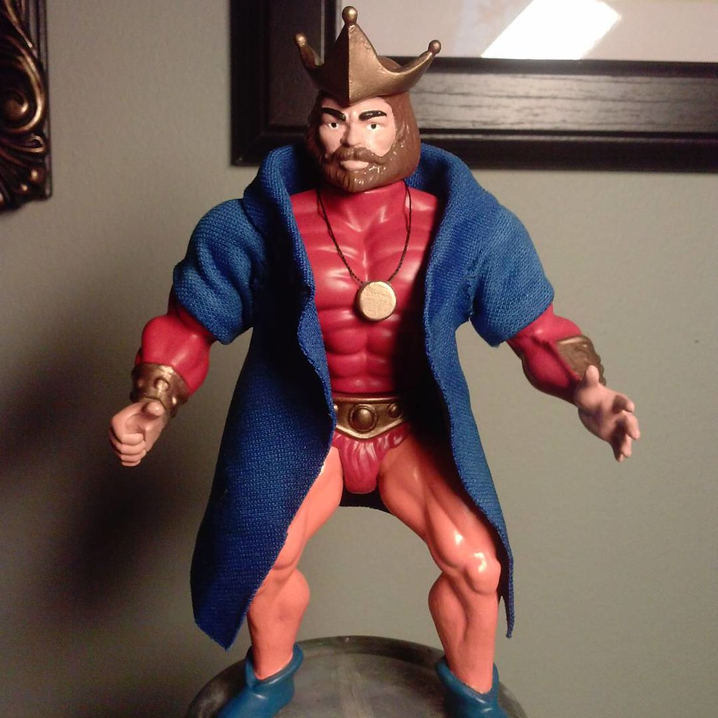 Custom action figures by Stolf - King Randor