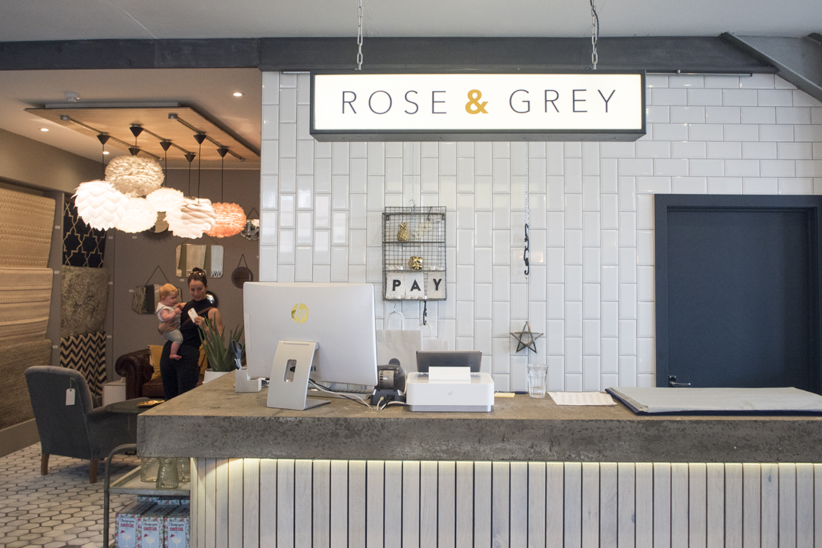 Rose Grey Showroom Interiors Altrincham ...