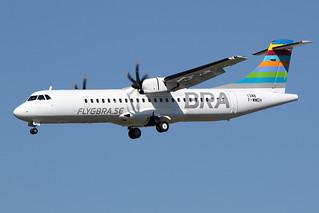 6 juillet 2016 - BRA Braathens Régional Airlines - ATR 72-600 F-WWEH msn 1348 - LFBO - TLS