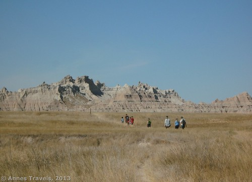 The Castle Trail in Badlands National Park also offers some options for exploration.