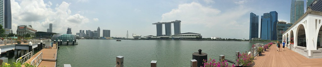Panorama Marina Bay - Copyright Travelosio