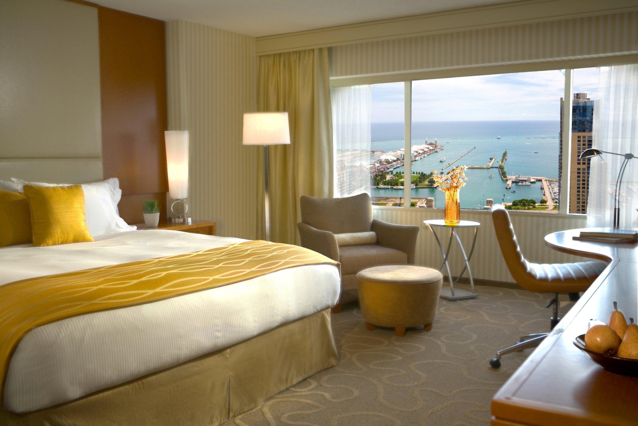 Swissôtel-Chicago-Guest-room
