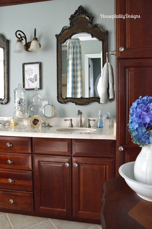 Master Bath Vanity - Housepitality Designs