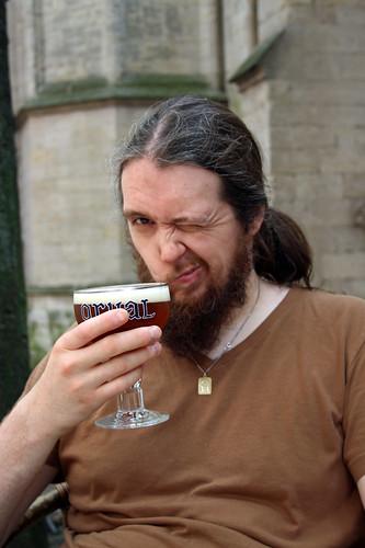 Bert can haz beer
