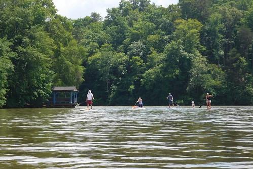 Kayaking and SUP on Saluda Lake-3