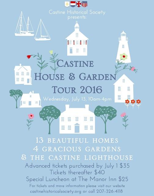 castine house garden tour