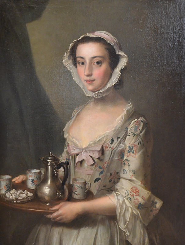Girl with a Tray, Philip Mercier, 1750