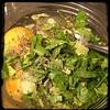 #ZucchiniBlossom #Mushroom #Potato Frittata  #Homemade #CucinaDelloZio - premix eggs n herbs