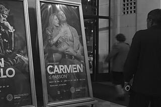 SF Opera - Carmen bw
