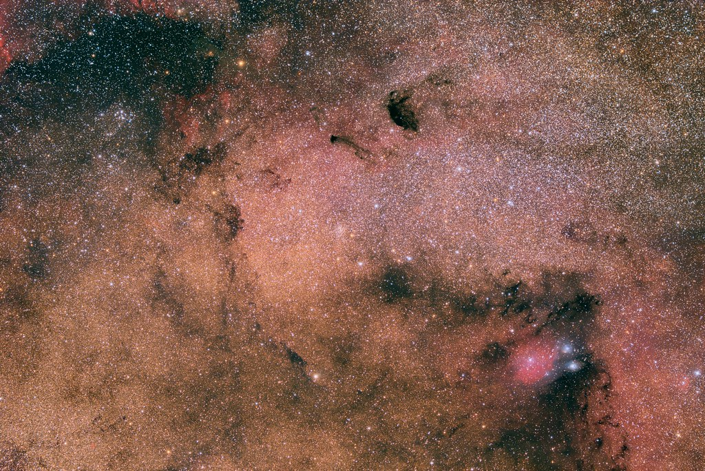 Sagittarius star cloud and surroundings