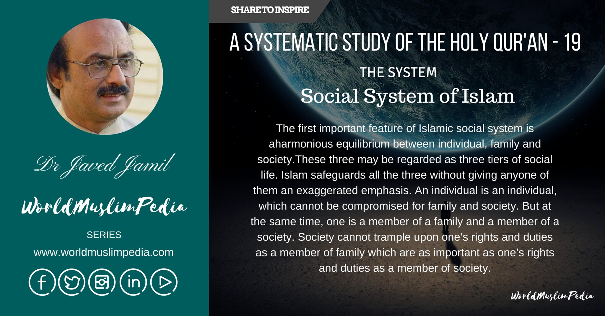 Part IV The System - Social System of Islam