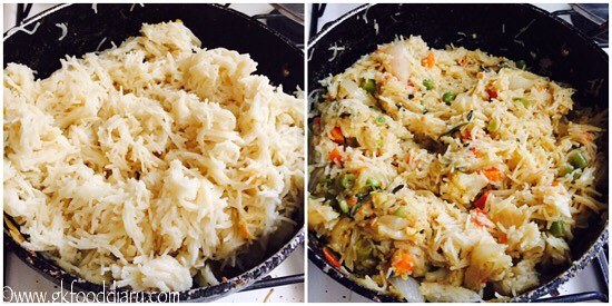 Semiya Biryani Recipe For Toddlers and Kids - step 7