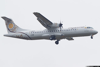 Myanmar National Airlines ATR 72-600 (72-212A) cn 1338 F-WWEV // XY-AME