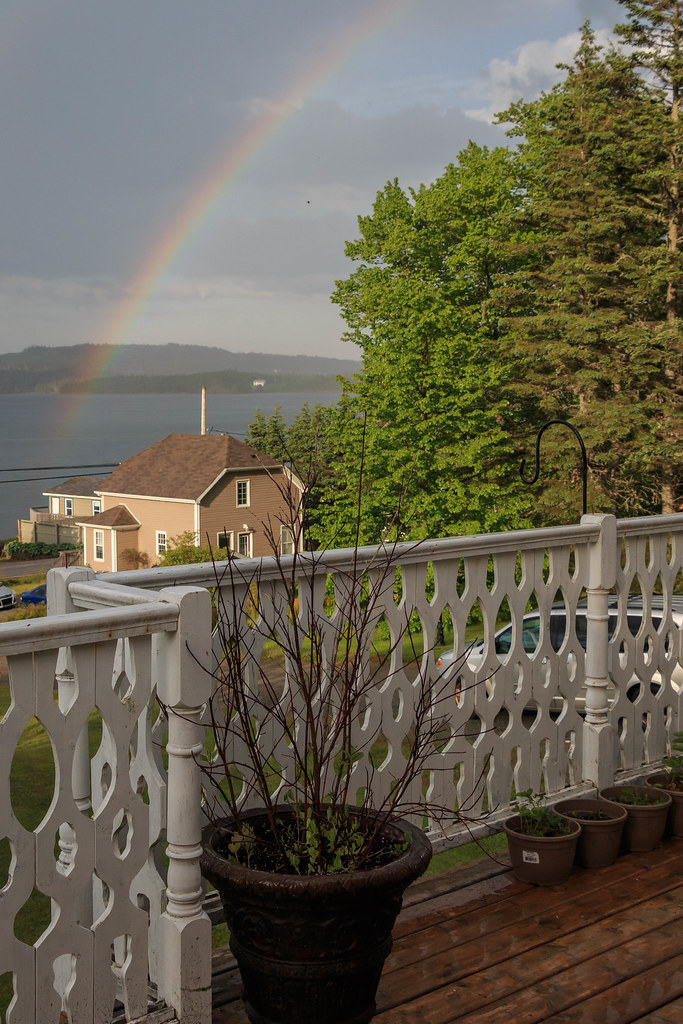 Rainbow from my front balcony—June 23rd