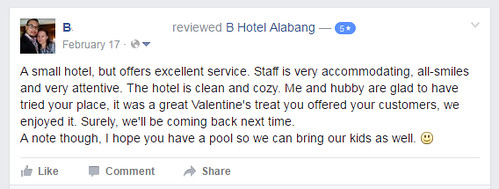 b hotel review