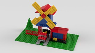 352 Windmill and Lorry