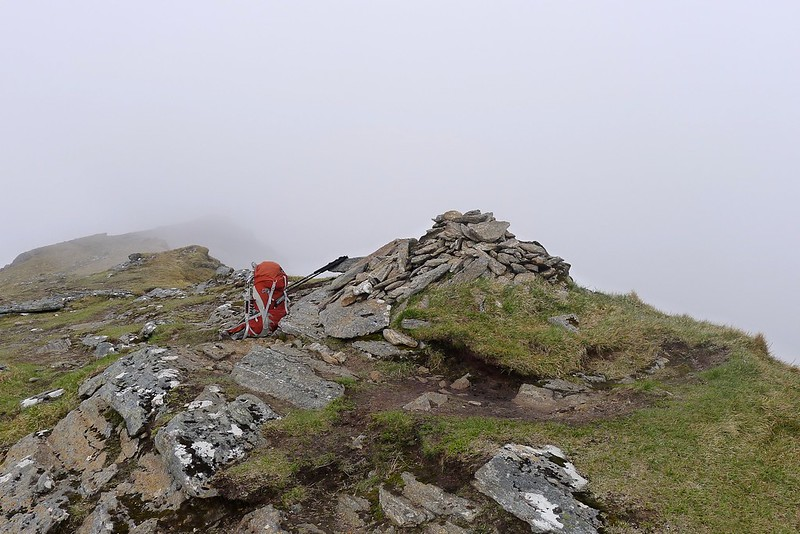 Summit of Sgurr nan Each