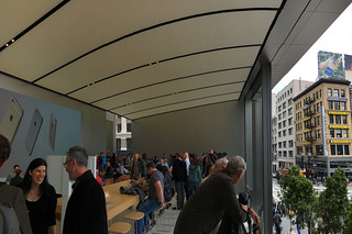 Apple Store - San Francisco Store 2nd floor balcony