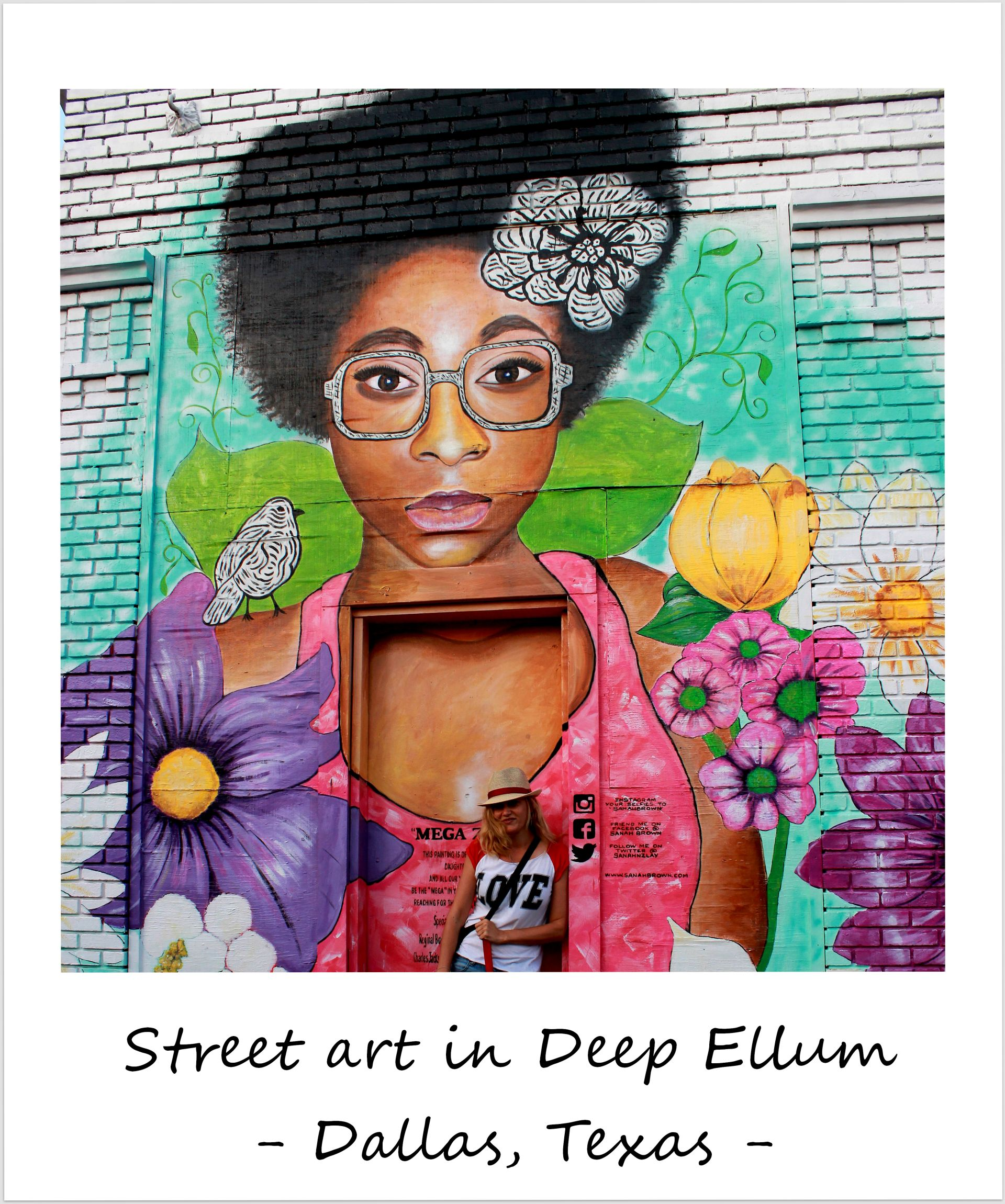 polaroid of the week usa texas dallas deep ellum street art