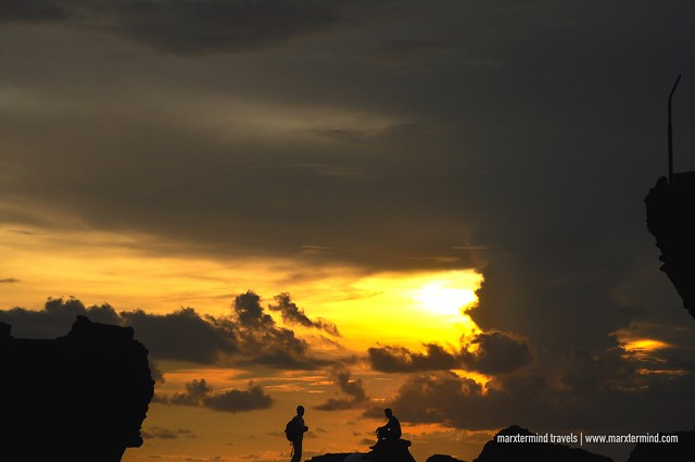 Sunset at Tanah Lot Temple Bali
