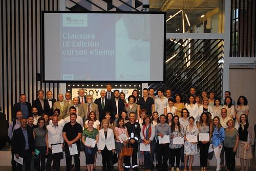9ª Edición Clausura cursos eSemp Madrid
