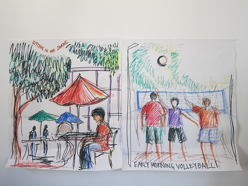 Sketches from Google Take Your Children to Work Day