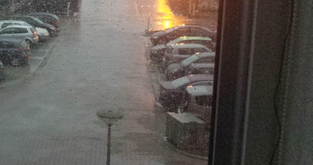 Rainy Evening through my window