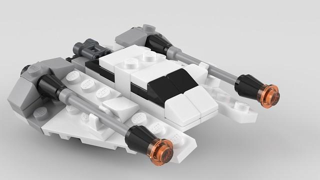 8029 Mini Snowspeeder