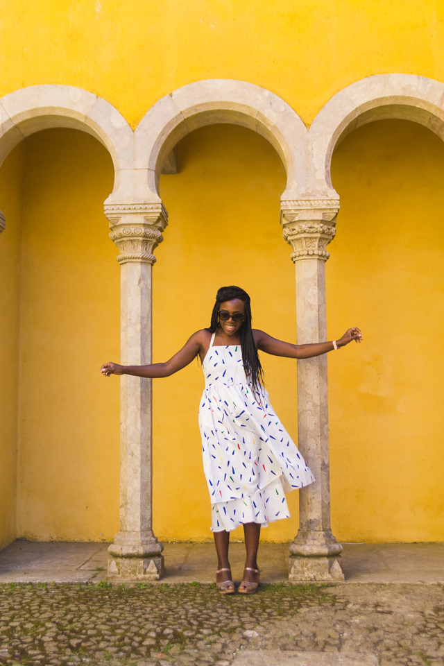 How I style a white midi dress for Summer