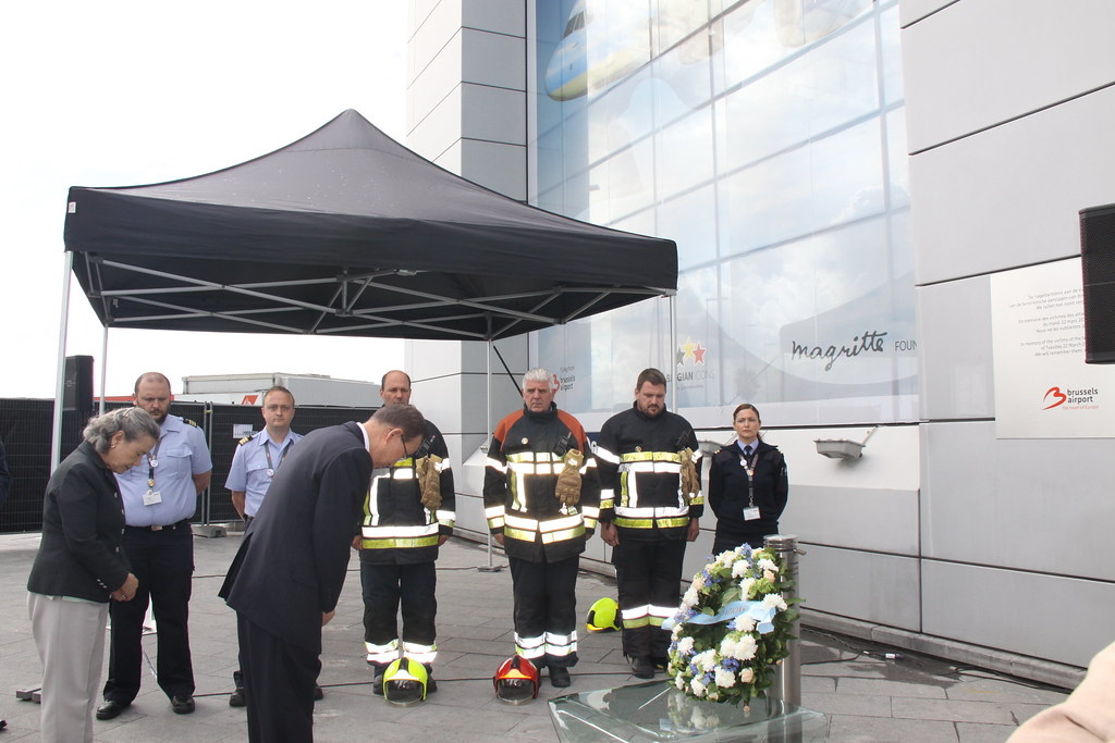 Ban Ki-moon commemorates Brussels Bombings at national airport