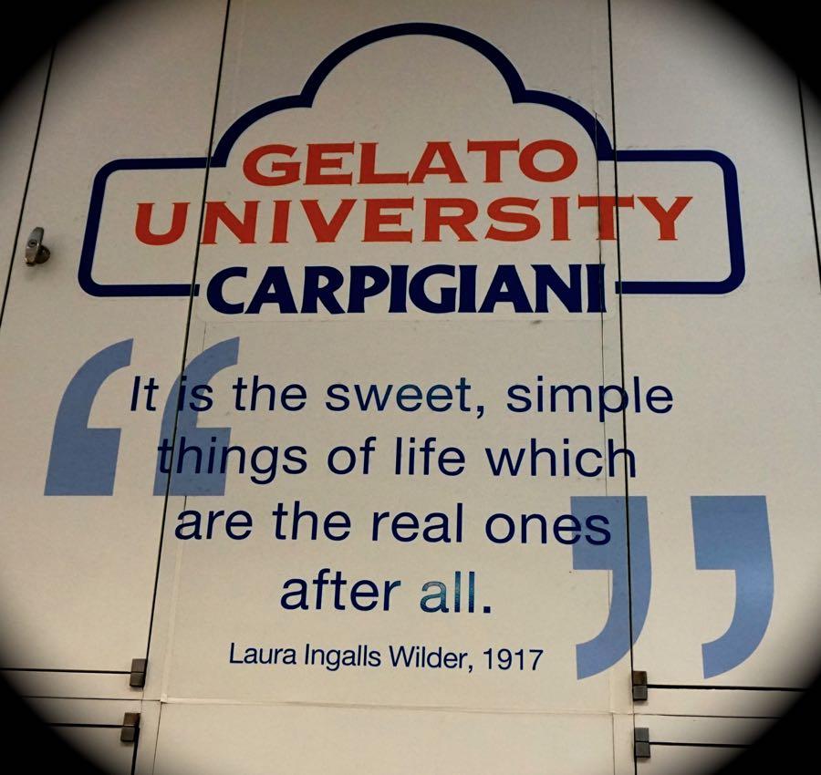 Gelato University Quote