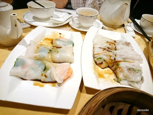 steamed rice rolls
