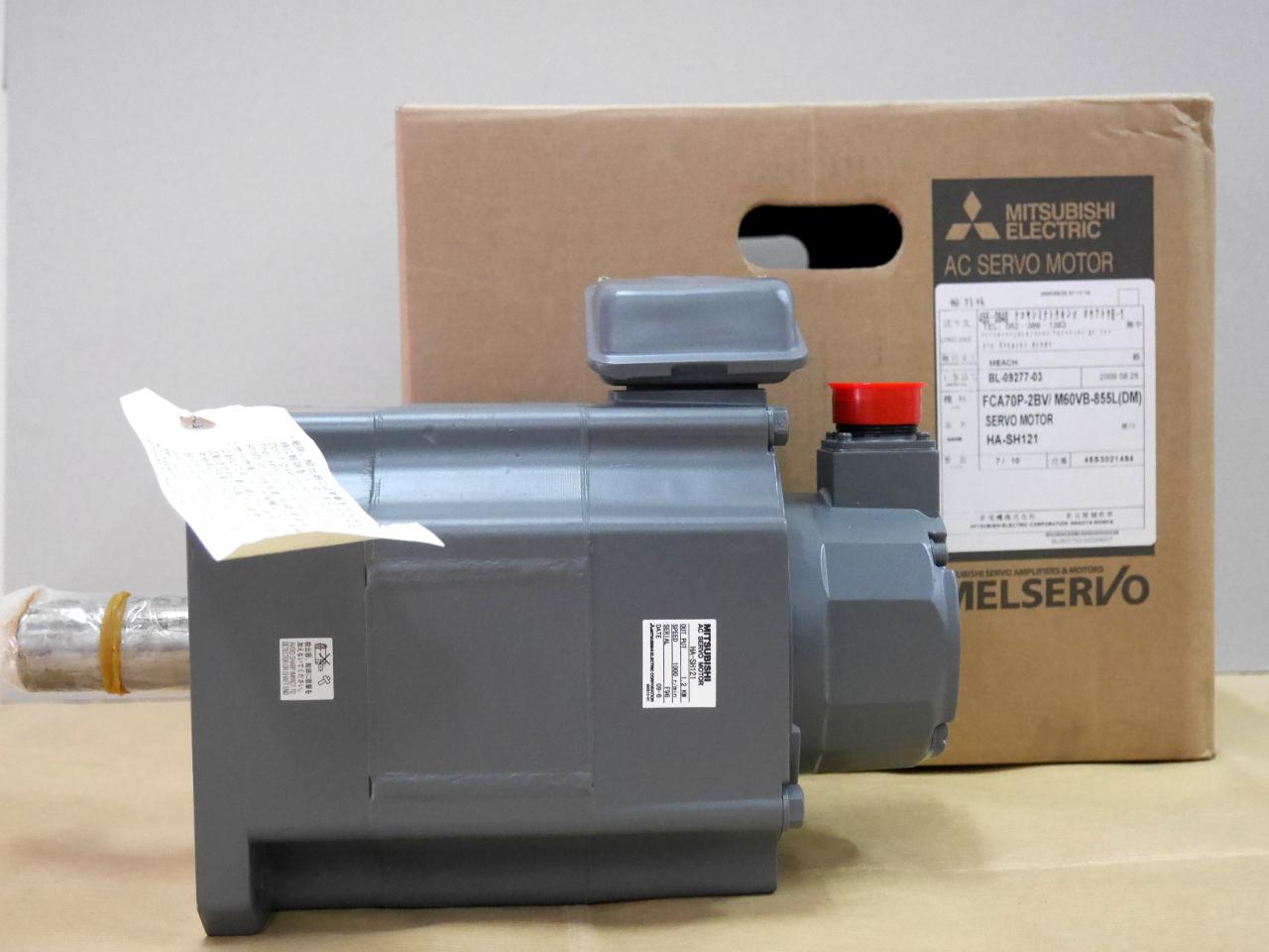 Mitsubishi Ac Servo Motor Ha Sh121 Ebay