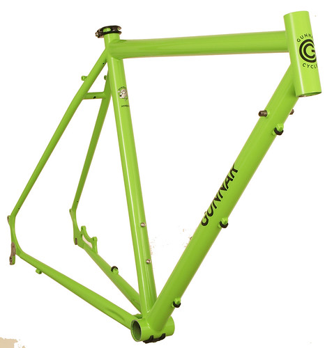 Gunnar Hyper-X in Lime Twist with Bullseye Black Decals | by Gunnar Cycles