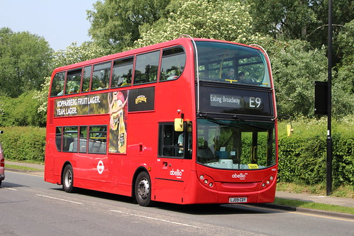 Abellio London 9459 on Route E9, Greenford Avenue
