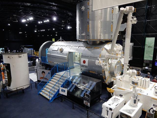 Replica Kibo ISS module