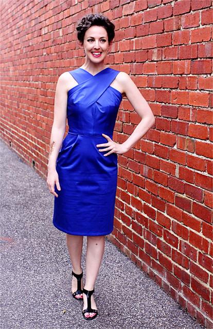 Dressmaker's Do Blue Vintage #3