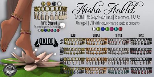 OXIDE Aisha Anklet Gacha
