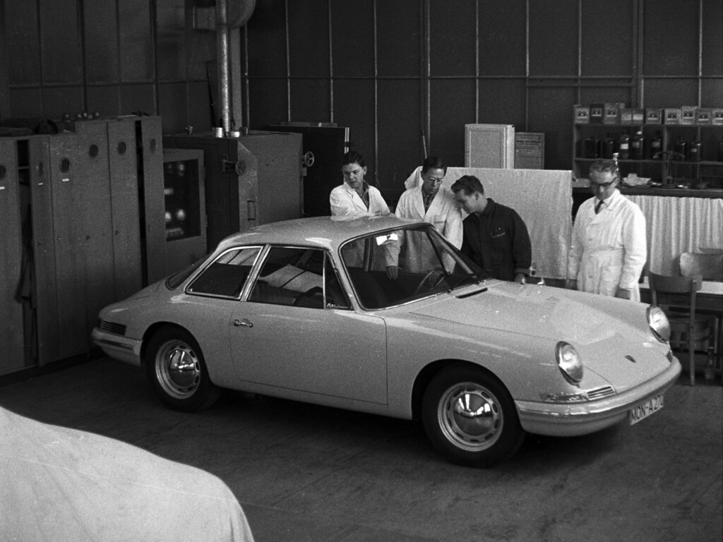 Porsche T7 Concept (Typ 754). 1959 год