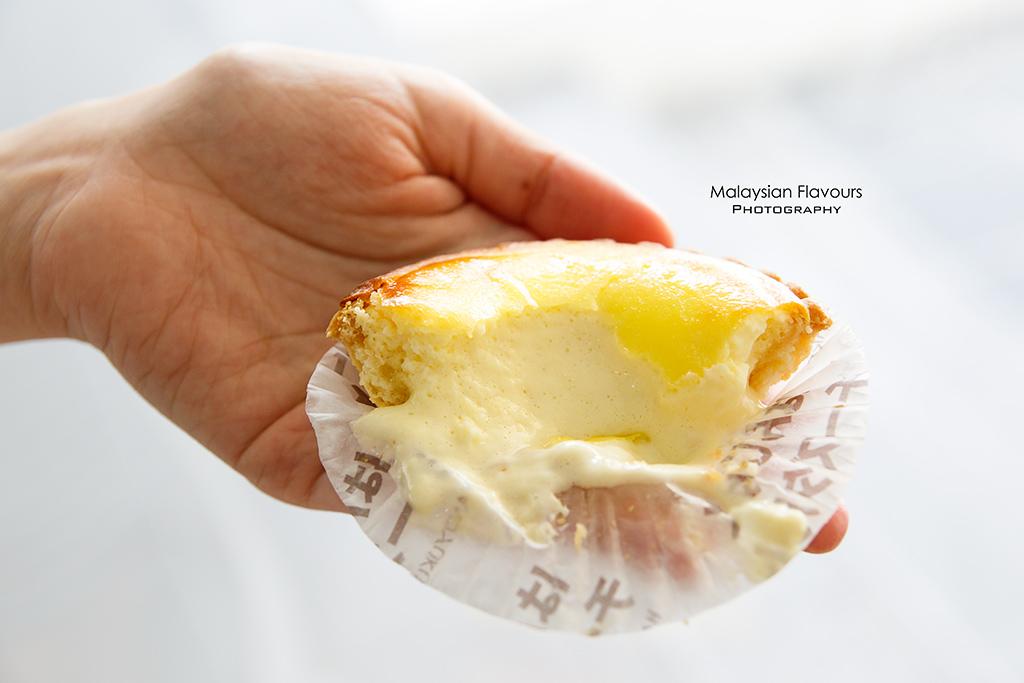 Tokyo Secret Malaysia IPC japanese hanjuku cheese tart