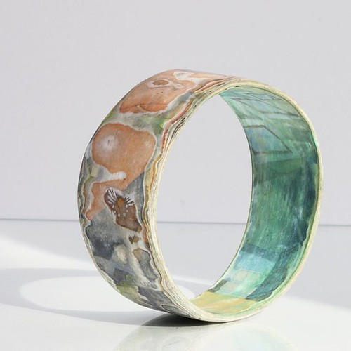 Kiahdesign Paper Mâché Bangle