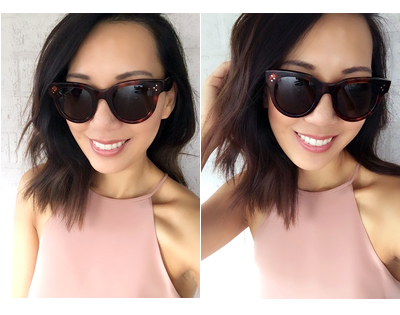 8f72cff5b59 Celine Sunglasses. I picked the Celine Baby Audrey ...