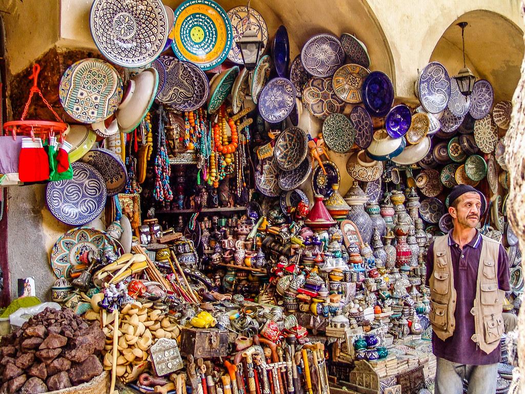 Poterie a la medina de Fez