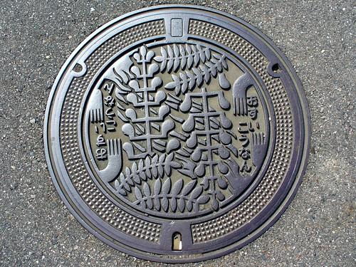 Konan Aichi, manhole cover (愛知県江南市のマンホール)