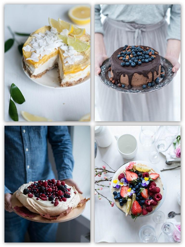 vegaanisia kakkuideoita